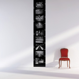 Paname-Medium-Black Wall Decal
