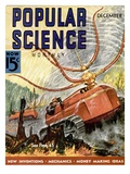 Front Cover of Popular Science Magazine: December 1, 1930 Art
