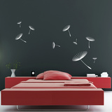 White Dandelion Wallstickers