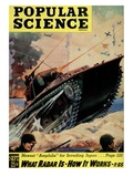 Front cover of Popular Science Magazine: September 1, 1940 Giclee Print