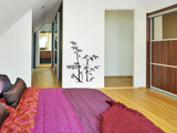 Bamboos-Left-Black Wall Decal