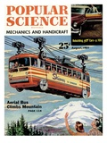 Front Cover of Popular Science Magazine: August 1, 1951 Print