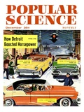 Front Cover of Popular Science Magazine: December 1, 1950 Posters