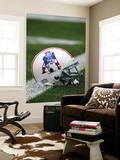 Patriots Broncos Football: Denver, CO - Patriots Throwback Helmet Wall Mural by Jack Dempsey