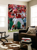 Giants Chiefs Football: Kansas City, MO - Matt Cassel Wall Mural by Jeff Roberson