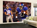 Cardinals Giants Football: East Rutherford, NJ - Brandon Jacobs Wall Mural – Large by Tim Larsen