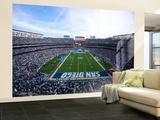 Jets Chargers Football: San Diego, CA - Qualcomm Stadium Veggmaleri – stort av Jeff Chiu
