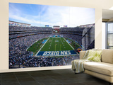 Jets Chargers Football: San Diego, CA - Qualcomm Stadium Wall Mural – Large by Jeff Chiu