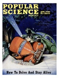 Front cover of Popular Science Magazine: April 1, 1946 Giclee Print