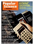 Front cover of Popular Science Magazine: March 1, 1973 Posters