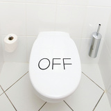 Off-Black Wall Decal