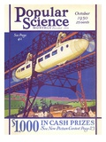 Front cover of Popular Science Magazine: October 1, 1930 Psters