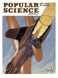 Front cover of Popular Science Magazine: October 1, 1947 Prints