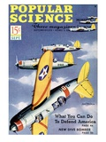 Front cover of Popular Science Magazine: September 1, 1940 Prints