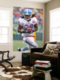 Titans Jets Football: East Rutherford, NJ - Chris Johnson Wall Mural by Tim Larsen