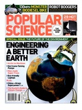 Front cover of Popular Science Magazine: August 1, 2007 Psters