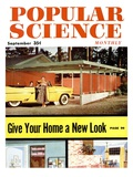 Front cover of Popular Science Magazine: September 1, 1950 Posters