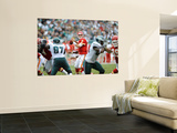 Chiefs Eagles Football: Philadelphia, PA - Matt Cassel Wall Mural by Michael Perez