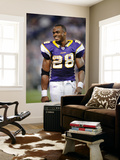 Seahawks Vikings Football: Minneapolis, MN - Adrian Peterson Reproduction murale géante par Hannah Foslien