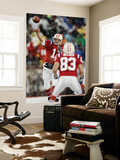 Titans Patriots Football: Foxborough, MA - Tom Brady and Wes Welker Wall Mural by Winslow Townson