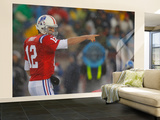 Titans Patriots Football: Foxborough, MA - Tom Brady Wall Mural – Large by Stephan Savoia