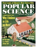 Front Cover of Popular Science Magazine: September 1, 1962 Prints