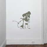 Jack Russel-Mouse Wall Decal