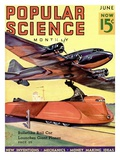 Front Cover of Popular Science Magazine: June 1, 1930 Giclee Print