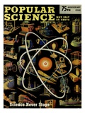 Front cover of Popular Science Magazine: May 1, 1947 Giclee Print