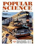 Front cover of Popular Science Magazine: May 1, 1950 Art