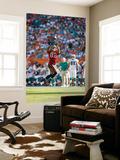 Buccaneers Dolphins Football: Miami, FL - Kellen Winslow Veggmaleri av Hans Deryk