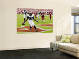 Seahawks Cardinals Football: Glendale, AZ - Justin Forsett Wall Mural by Ross D. Franklin