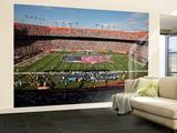 Saints Dolphins Football: Miami, FL - Sun Life Stadium Veggmaleri – stort av Jeffrey M. Boan