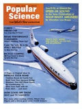 Front Cover of Popular Science Magazine: April 1, 1972 Poster