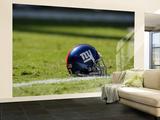 Giants Chiefs Football: Kansas City, MO - New York Giants Helmet Wall Mural – Large by Jeff Roberson