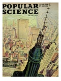 Front cover of Popular Science Magazine: June 1, 1946 Giclee Print