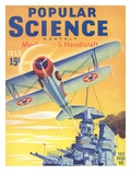Front cover of Popular Science Magazine: July 1, 1940 Posters