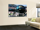 Jaguars 49ers Football: San Francisco, CA - A Jacksonville Jaguars Helmet Wall Mural by Tony Avelar