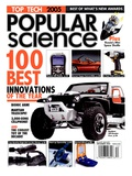 Front cover of Popular Science Magazine: December 1, 2005 Poster