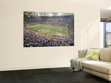 49ers Vikings Football: Minneapolis, MN - Hubert H. Humphrey Metrodome Wall Mural by Paul Battaglia