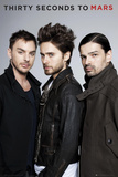 30 Seconds to Mars- Band Julisteet