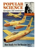 Front Cover of Popular Science Magazine: January 1, 1951 Posters