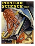 Front cover of Popular Science Magazine: January 1, 1946 Posters