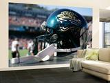 Jaguars 49ers Football: San Francisco, CA - A Jacksonville Jaguars Helmet Wall Mural – Large by Tony Avelar
