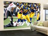 Texans Rams Football: , MO - Steven Jackson Wall Mural – Large by Tom Gannam
