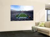 Jets Chargers Football: San Diego, CA - Qualcomm Stadium Veggmaleri av Jeff Chiu