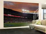 Bills Panthers Football: Charlotte, NC - Bank of America Stadium Wall Mural – Large by Rick Havner