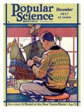 Front Cover of Popular Science Magazine: December 1, 1927 Prints