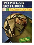 Front cover of Popular Science Magazine: July 1, 1940 Poster