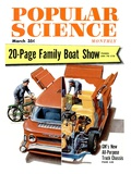 Front cover of Popular Science Magazine: March 1, 1950 Affiches